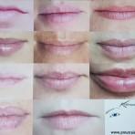 Lips practice mat