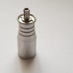 Tip for machine handpiece (acupunture needles)